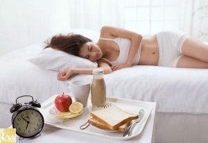 Ngủ ben đồ ăn