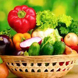 chế độ giảm cân với rau quả