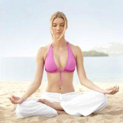Giảm cân vòng 2 nhanh chóng với tư thế yoga